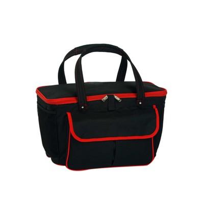 Picnic Plus Avanti Cooler Tote Black/Red