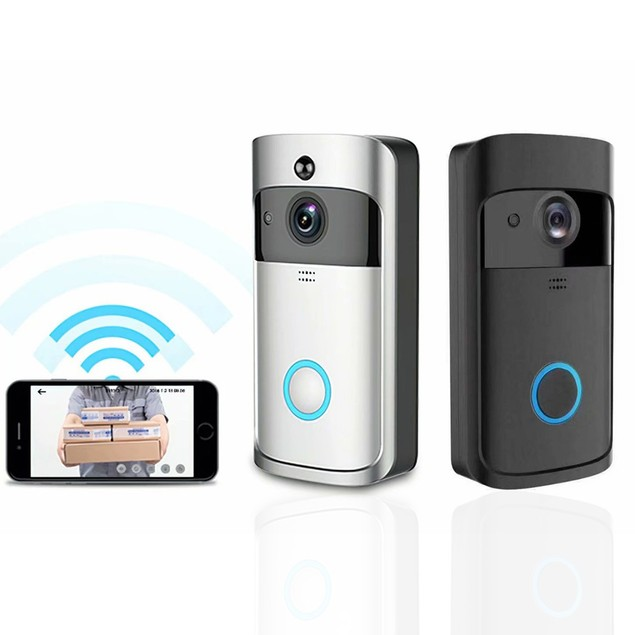 WiFi Camera Doorbell HD Video Motion Detector Audio&Speaker for iOS&Android