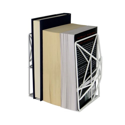 Geometric Bookends | MandW White