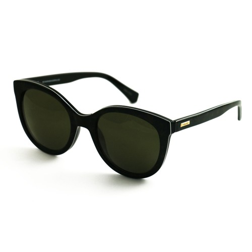 Police Woman Sunglasses SPL408E APAV Black 54 22 140 Oval Green Mirrored