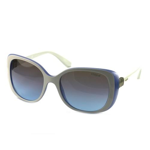 Vogue Women's Sunglasses VO5155S 259448 White/Blue 55 18 135 Full Rim