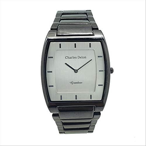Charles Delon Women's Watches 4892 GBBB Black/Black Stainless Steel Quartz Round