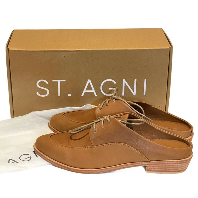 St. AGNI Women's Dylan Loafer Brown Size 39