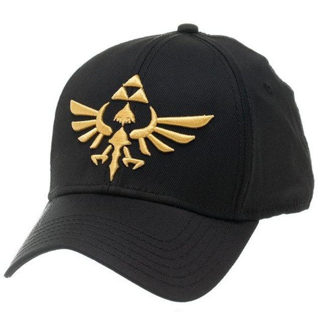 Triforce Legend Of Zelda Hat Flex Fit Nintendo Embroidered Baseball Cap