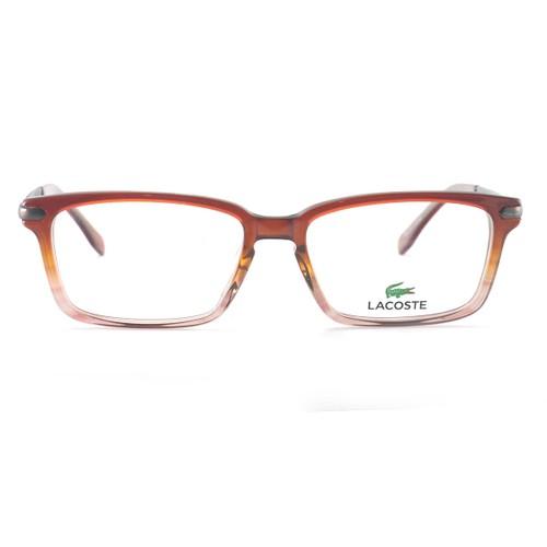 Lacoste Unisex Eyeglasses L2720 210 Brown Rose Gradient/Clear 52 16 140