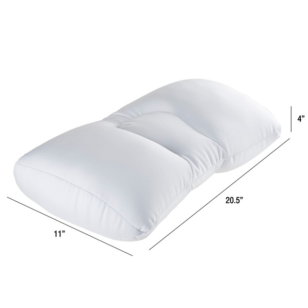 Remedy Microbead Pillow Squishy 11 x 20 Bed Pillow