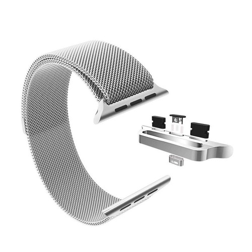 Stainless Steel Milanese Loop Band Replacement for 42MM Apple Watches Series 1/2/3