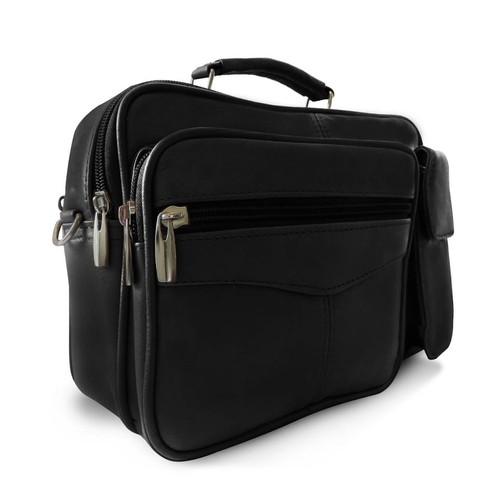 Traveler Leather Shoulder Bag For Him or Her
