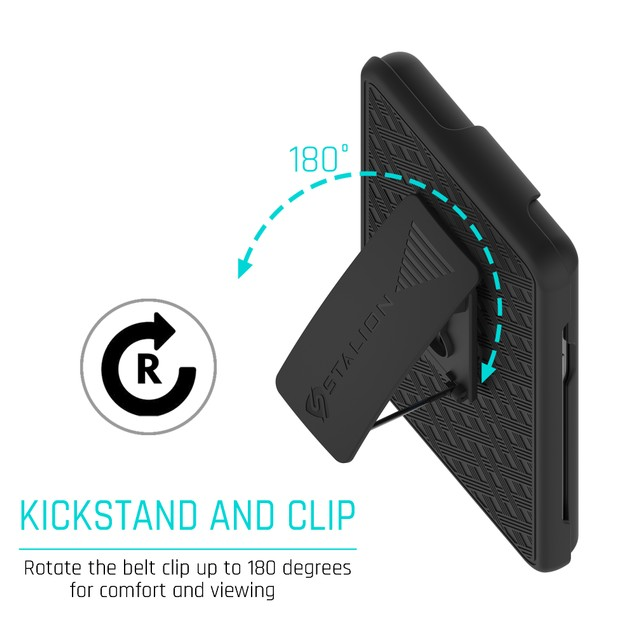 Stalion Secure Belt Clip Holster Case Kickstand for Samsung Galaxy Note 7