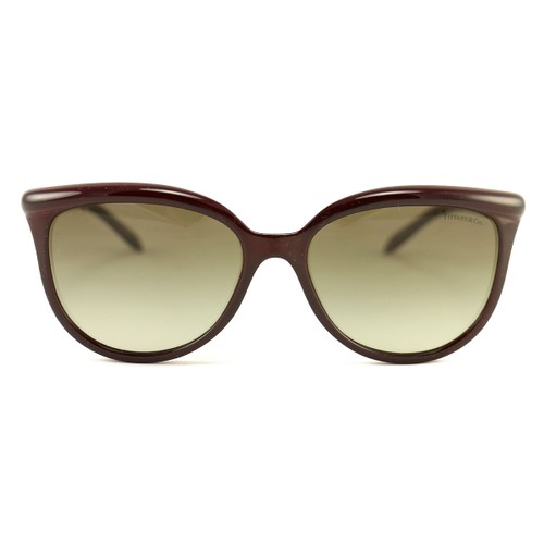 New Tiffany & Co. Sunglasses TF 4093-H-8185-3M Wine Pearls Acetate 57 17 145