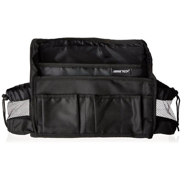 Zone Tech Compact Car Seat Driver Headrest Storage Bag