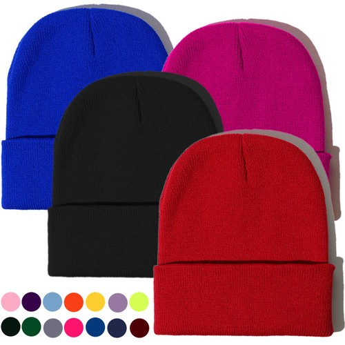 Candy Color Unisex Knitted Hat