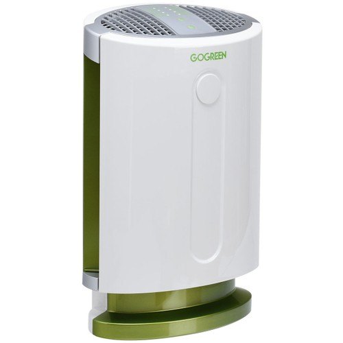 Goplus 3-in-1 Air Purifier HEPA Filter Particle Carbon Filter Odor Allergie