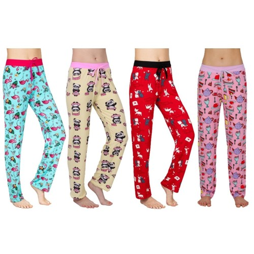 3-pack Victoria Collection Women's Assorted Ultra-Soft Lounge Pants