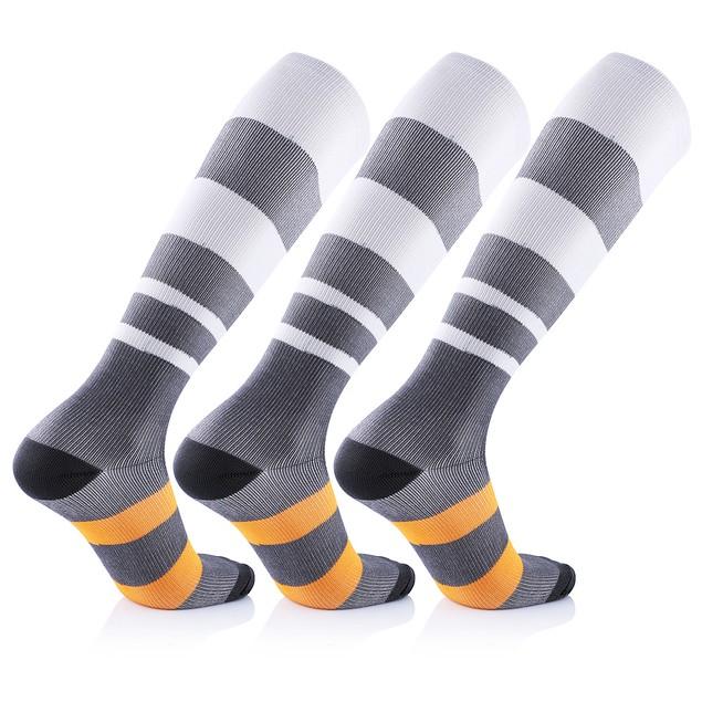 6-Pairs: Unisex Persario Compression Socks