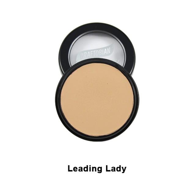Leading Lady HD Glamour Creme Foundation 5oz. Graftobian Cruelty Free USA