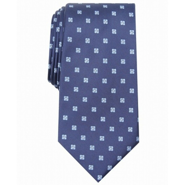 Club Room Men's Classic Neat Tie Navy Size Regular