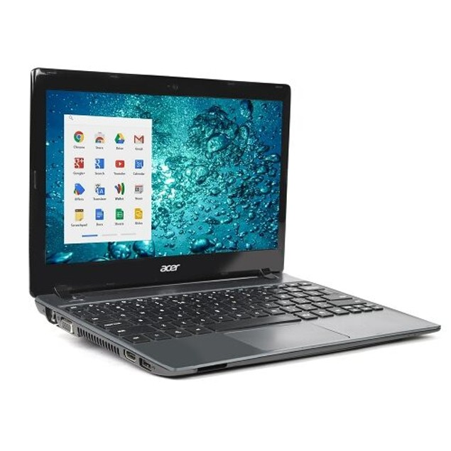"""Acer 11.6"""" Chromebook C710 with FREE Cyber Acoustics Case (2GB RAM, Black)"""