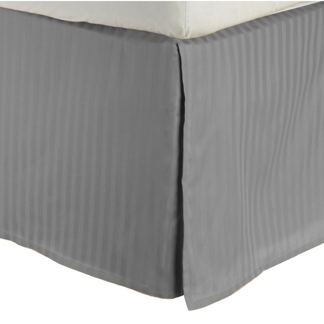 Egyptian Cotton 300-Thread Count Stripe Bed Skirt