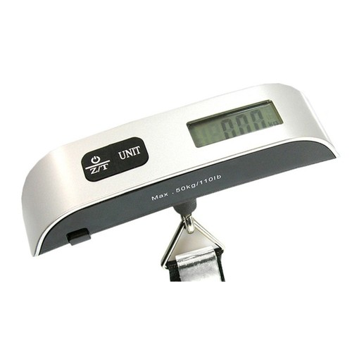 Portable 110lb Digital Luggage Scale with LCD Display