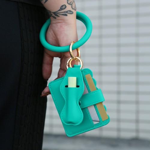 Chapstick Holder & Wallet Bracelet