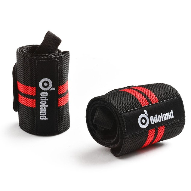 Adjustable Weight Lifting Training Wrist Strap Braces Wraps Belt Protector