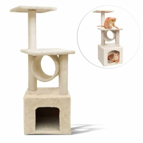 Zone Tech Cat Kitten Condo Tree Play House Tower Furniture Scratch Post