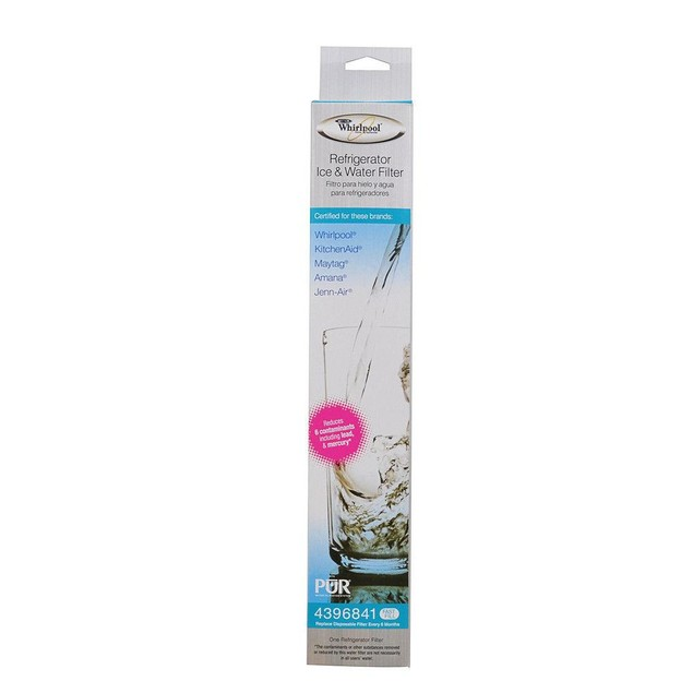Whirlpool 4396841 Ice and Water Filter 6 PACK