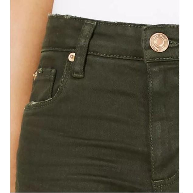 STS Blue Women's Ellie High Waist Skinny Jeans Medium Green Size 24
