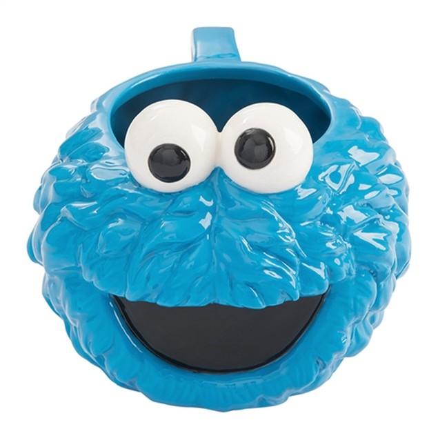 Sesame Street Cookie Monster 20 oz. Sculpted Ceramic Mug