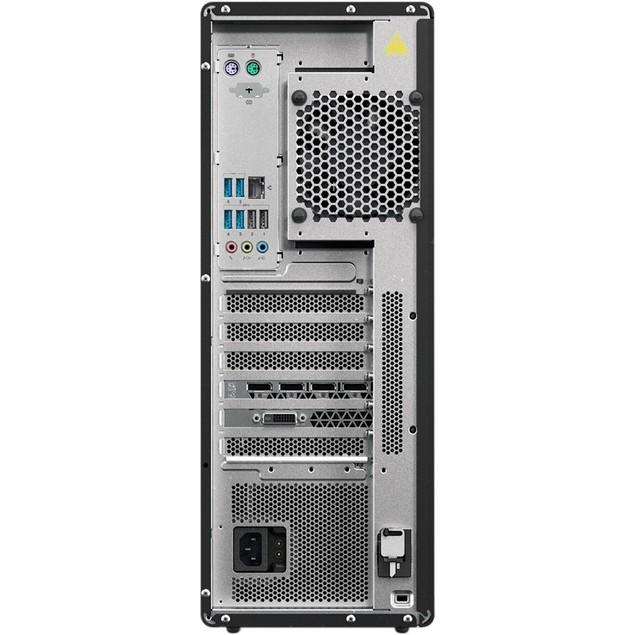 Lenovo ThinkStation P520 8GB 1TB Win10,Black(Certified Refurbished)