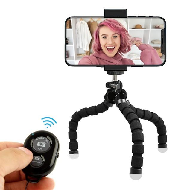 Aduro U-Stream Flex Tripod Portable Streaming Studio & Selfie Stick