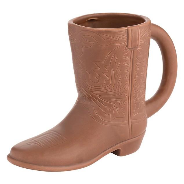 John Wayne Boot 20 oz. Sculpted Ceramic Mug Coffee Tea Gift Duke