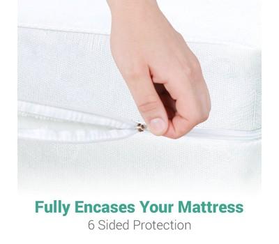 Ultimate Bed Bug Blocker Zippered Mattress Encasement Was: $49.99 Now: $19.49.