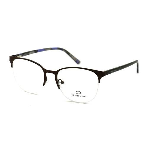 Charles Delon Women's Eyeglasses JS041 C3 Bronze 52 18 142 Oval Stainless Steel