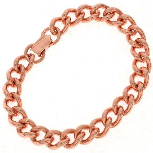Pure Copper Chain Link Bracelet Mens & Womens