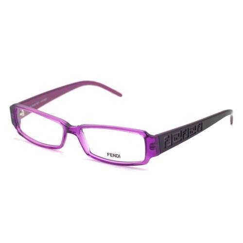 Fendi Women's Eyeglasses F664 536 Purple 53 14 140 Full Rim Rectangular