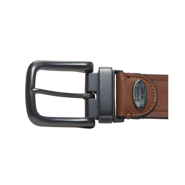 Levi's Men's Reversible Casual Belt Brown Size Medium