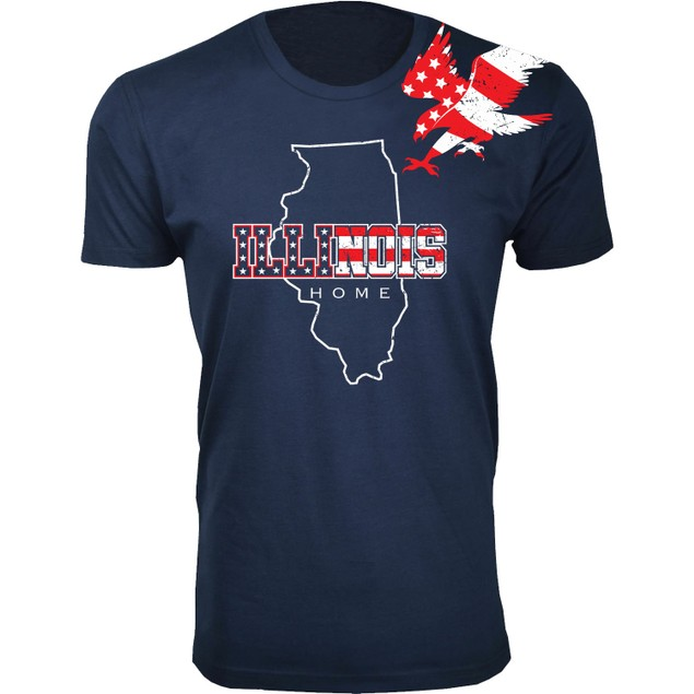 Men's American Home State and City USA T-Shirts