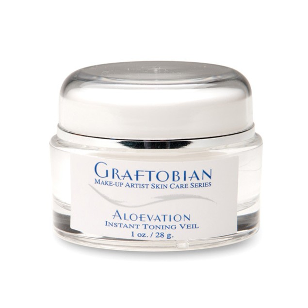 Aloevation Toning Smoothing Veil 1 oz. Graftobian Cruelty Free USA