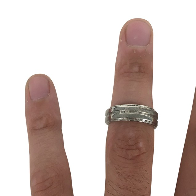 Dean Winchester Silver Ring Band