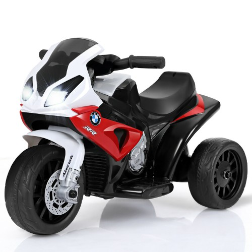 Costway Kids Ride On Motorcycle BMW Licensed 6V Electric 3 Wheels Bicycle w