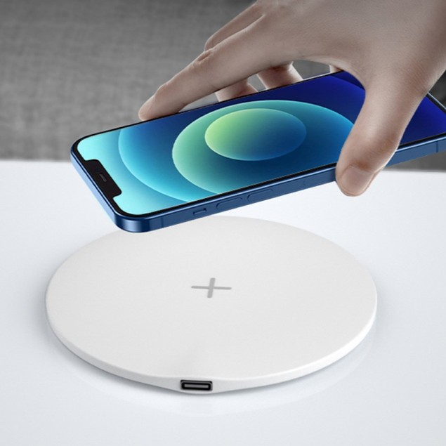 Fast Wireless Charger Qi-Certified 15W Thin Charging Pad