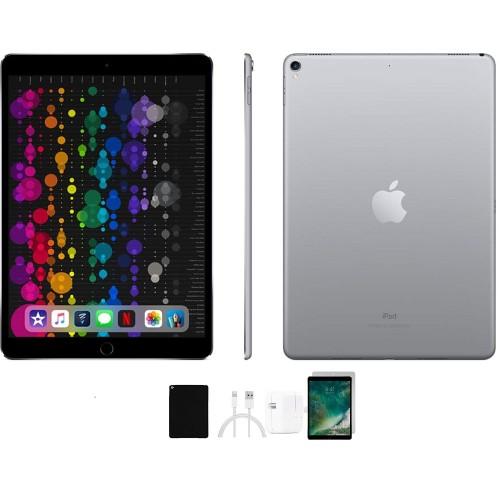 Apple 10.5-Inch iPad Pro MQDT2LL/A Bundle (WiFi, 64GB, Space Gray)