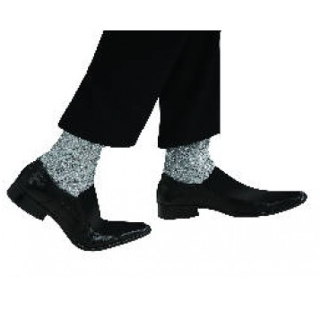 Michael Jackson Adult Sparkle Socks