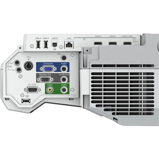 Epson BrightLink 710Ui 4000-Lumen 3LCD Laser Interactive Projector (Certified R