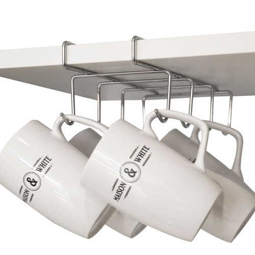 Under Shelf Cabinet Mug Rack | MandW Small