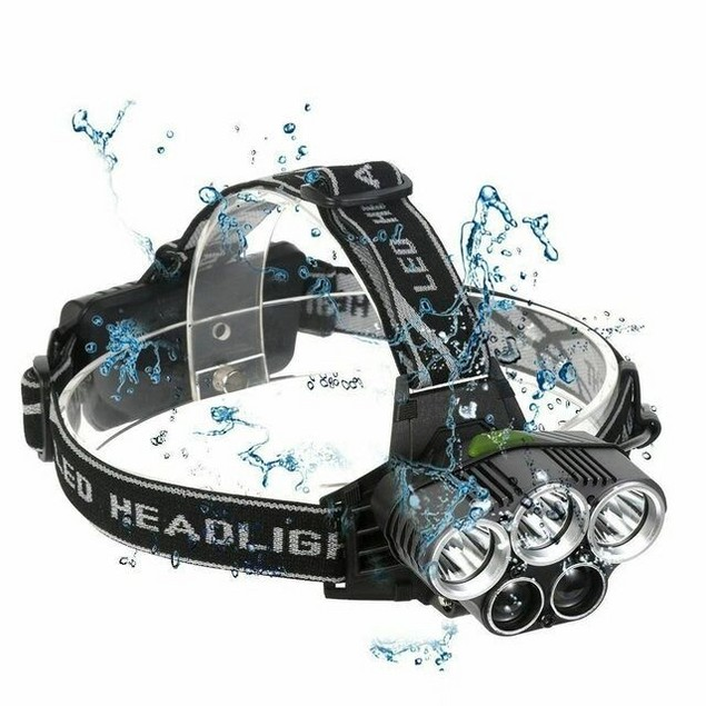 Rechargeable LED Headlamp Ultra Bright, Work Headlight micro-USB