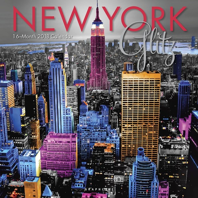 New York Glitz Wall Calendar, New York City by Calendars