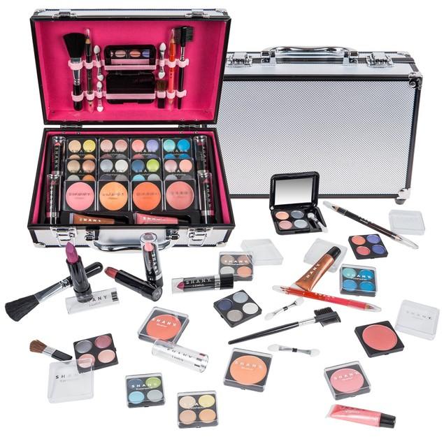 SHANY Makeup Train Case-Aluminum Case
